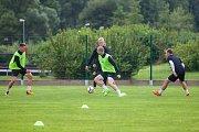 Trénink mužstva FK Jablonec pořádaný v rámci mediálního dne před zahájením sezony proběhl 25. července v Jablonci nad Nisou.