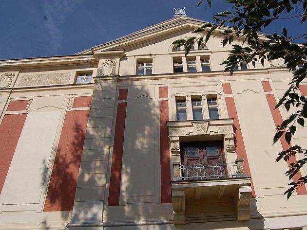 Městské divadlo v Jablonci nad Nisou.
