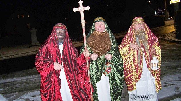 Tři králové putovali po Bzí