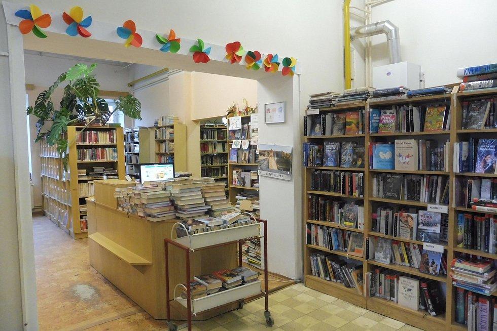 Staré prostory knihovny