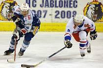 Hokej HC Vlci Jablonec. Ilustrační snímek.