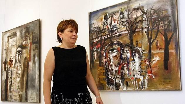Oblastní galerie v Liberci vystavuje obrazy maloskalského malíře Josefa Jíry.