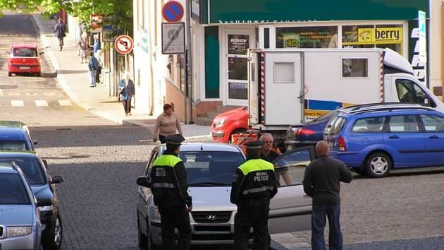 Jablonečtí strážníci v ulicích