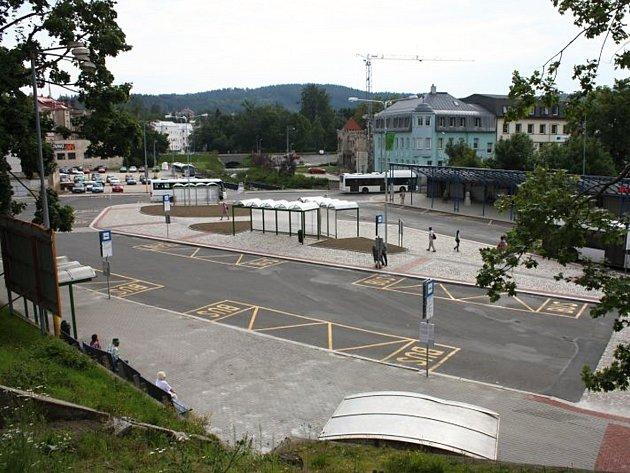 Autobusové nádraží Jablonec