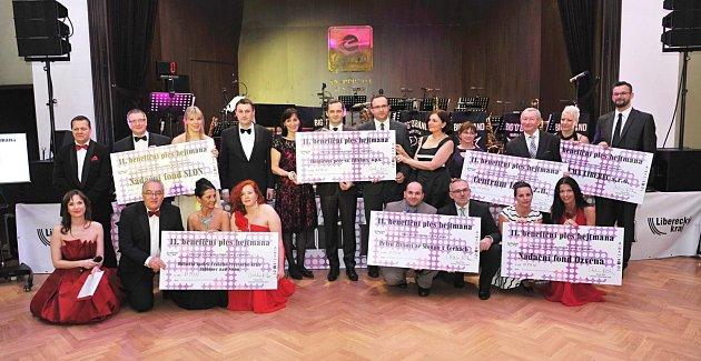 Benefiční ples hejtmana LK Martina Půty vroce 2016