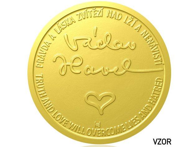 Medaile Václav Havel.
