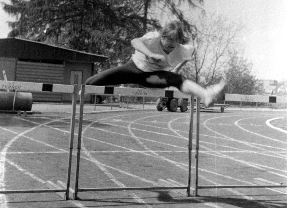 Zkušený atlet TJ LIAZ, Václav Novotný na archivním snímku.