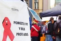 Den boje proti AIDS. Ilustrační snímek.