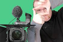 Kameraman a majitel jabloneckého video studia Martin Wenzel.