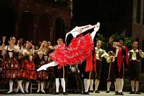 Don Quichote je jedním z nejpopulárnějších baletních titulů a je plný technických fines. V podání souboru a sólistů Bolšovo Baletu z Moskvy  jej diváci uvidí v jabloneckém kině Radnice v přímém přenosu příští neděli 6. března od 16.45.