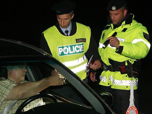 Policejní akce. Ilustrační snímek.