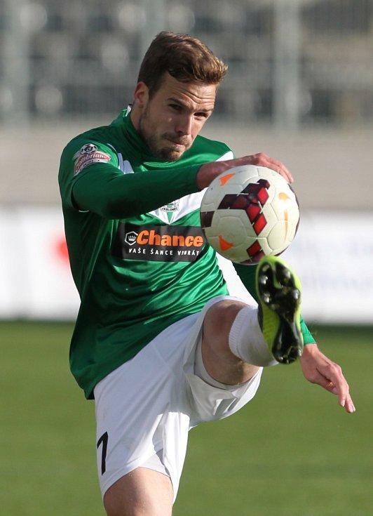 Jablonec porazil Spartu v prvním semifinále Poháru České pošty 3:1. Na snímku je Filip Novák z Jablonce.