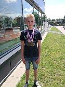 Jakub Bursa má šest zlatých