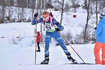 Na sněhu a v minus deseti stupních ladí formu česká biatlonová reprezentace
