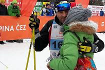V pátečním závodě si svou premiéru na Volkswagen Bedřichovské 30 si odbyl i český horolezec Radek Jaroš.