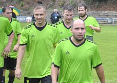 Železný Brod hrál další zápas krajského přeboru v Chrastavě. Z těžkého utkání si přivezl bod.