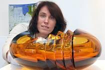 Muzeum skla a bižuterie v Jablonci získalo unikátní vázu. Dagmar Havlíčková (na snímku), kurátorka ateliérového skla a designu.