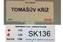 Traumatologické body jsou důležité křižovatky, které budou označeny tabulkou s tísňovými telefonními čísly a unikátním kódem. Jen v Krkonoších jich bude 180.