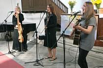 Berušky v Kostele Povýšení sv. Kříže na Náměstí Boženy Němcové v Jablonci