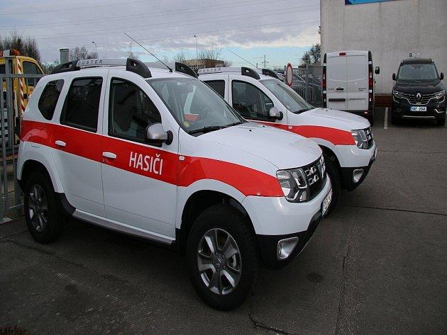 Vozy Dacia Duster opatřené pohonem všech kol.