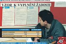 Meziroční srovnání nezaměstnanosti na Jablonecku
