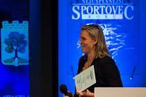 Barbora Špotáková na vyhlášení ankety Sportovec roku 2016