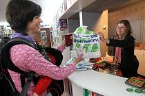 Akce, při které se knihy prodávaly se slevou 15 %, měla u čtenářů úspěch.