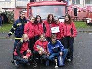 Sbor dobrovolných hasičů Zlatá Olešnice. A teď i s naším vedoucím.