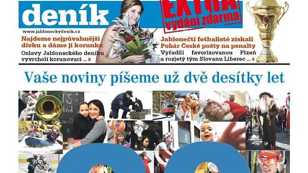 Jablonecký deník EXTRA červen 2013