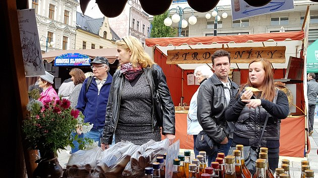 Jablonecké podzimní slavnosti. Ilustrační fotografie.