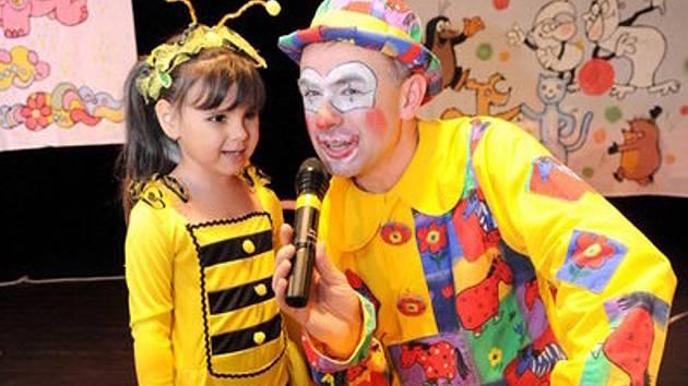 Karneval pro děti. Ilustrační snímek.