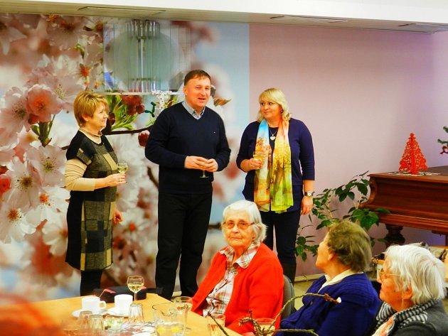 Primátor Petr Beitl na novoročním setkání se seniory
