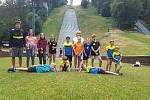 Jizerský klub z Desné se zúčastnil již 31. ročníku Beskydského turné ve skoku na lyžích žactva.