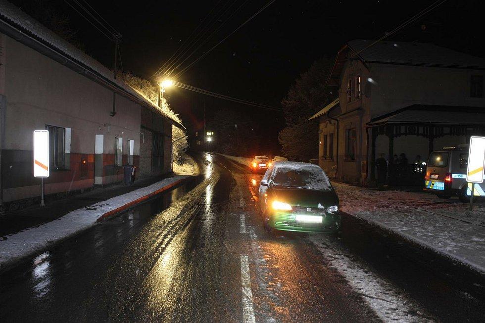 Nehoda Rovensko pod Troskami.