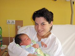 Antonios Zambias a maminka Michaela Koberová