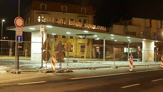 Výstavba terminálu v Železném Brodě