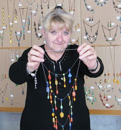 Milena Ulčová, Jablonec Cena Jabloneckého deníku za kolekci bižuterie z vinutých perlí
