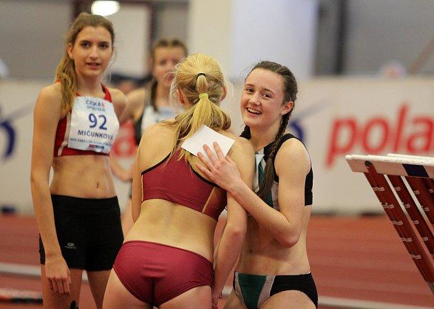 Adéla Novotná, úspěšná atletka TJ LIAZ JABLONEC, je velkou nadějí české atletiky.