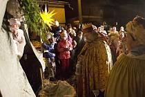 Živý Betlém v Železném Brodě