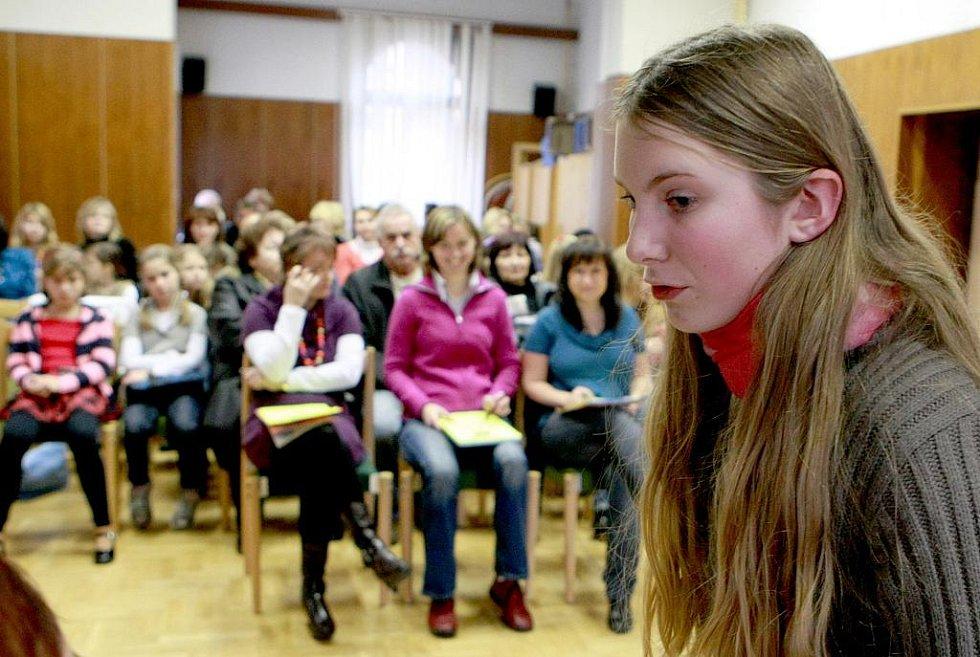V sobotu se odehrálo v Jablonci krajské kolo pěvecké soutěže Karlovarský skřivánek