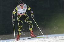 Klára Moravcová loni v lednu ve sprintu v závodě SP v běhu na lyžích, Nové Město na Moravě