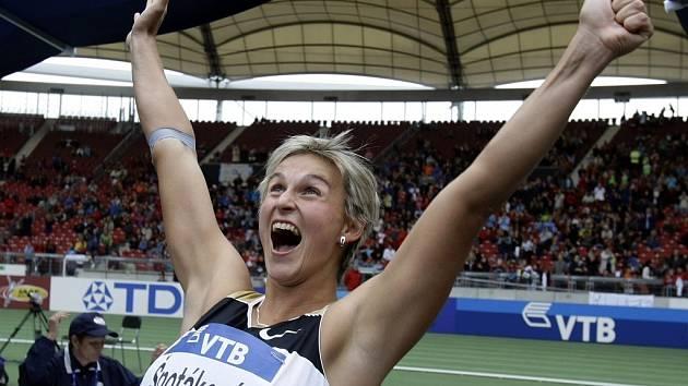 Bára vyhrála. Je držitelkou nejen olympijského zlata ale od soboty i světového rekordu.