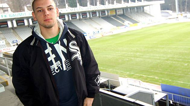 Slovenský reprezentant do 19 let gólman Matěj Rondoš je od čtvrtka na sedmi až deseti denní zkoušce v FK BAUMIT Jablonec.
