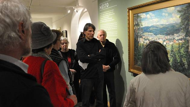 Krajina byla jedním z častých motivů místních malířů.