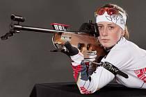Jessica Jislová, mladá jablonecká biatlonistka a tvář EYOWF 2011.