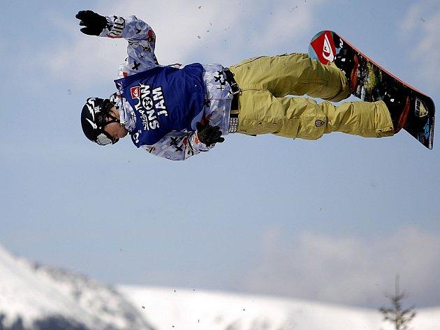 Snowboard free style. Ilustrační snímek.