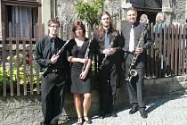 Jablonecké klarinetové kvarteto.
