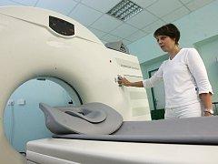 Přístroj CT, ilustrační snímek