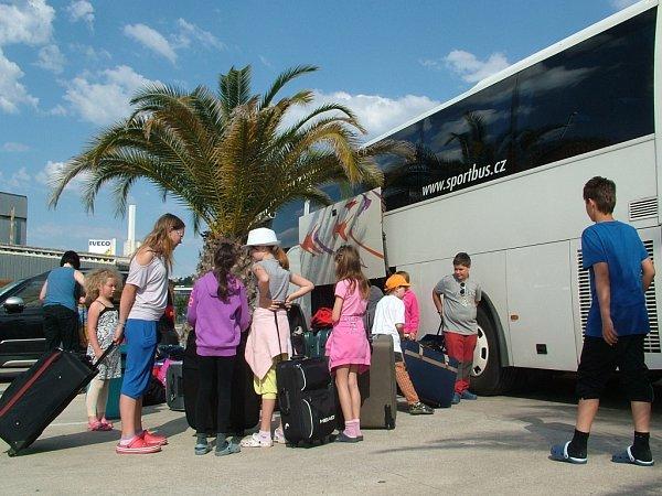 Vítá nás Camp Tucan vLlloret de Mar