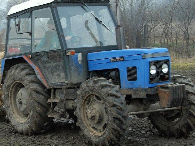 Traktor.Ilustrační snímek